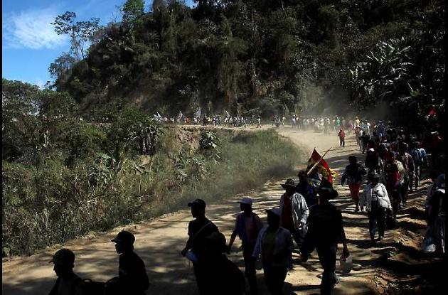Marcha indígena Bolivia