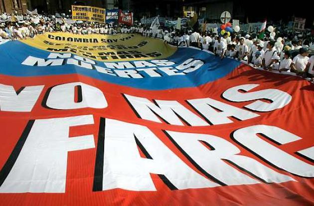 Marcha del 4 de febrero contra las Farc