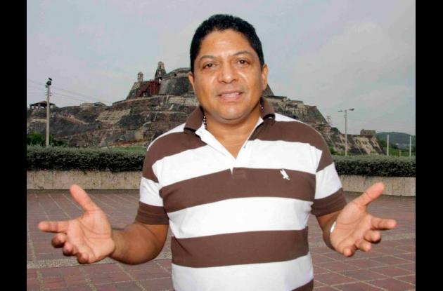 Marcos Díaz, cantante y compositor de música vallenata.