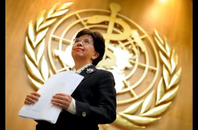 Margaret Cha, directora de la OMS.