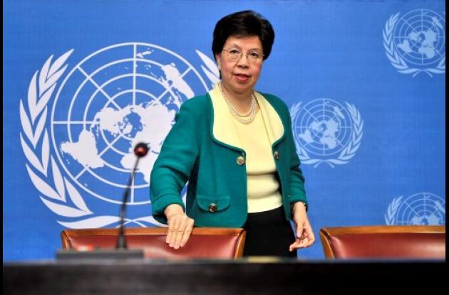 Margaret Chan, directora de la OMS.