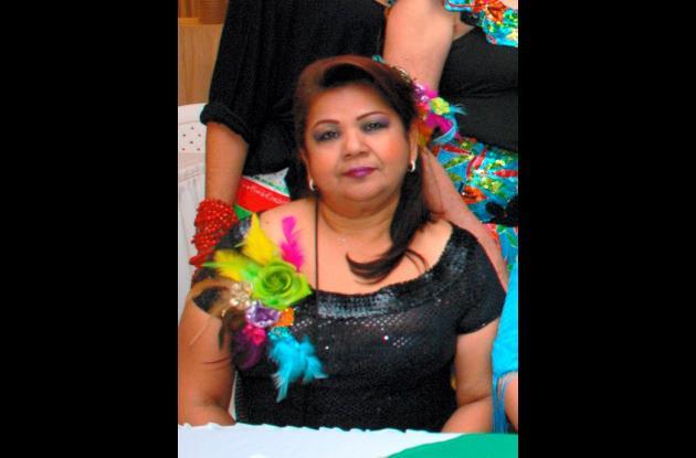 Margarita Rosa De las Salas Bacca, jueza asesinada hoy en Barranquilla.