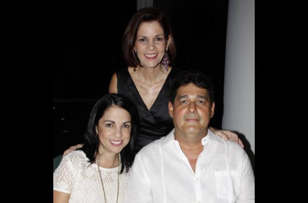 Comida para María Carolina Otero y Antonio Lozano