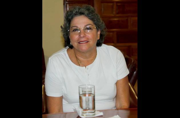 María Clara Quintero, asesora del Premio Simón Bolívar.