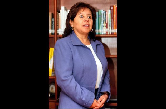 María del Pilar Hurtado, exdirectora del DAS.