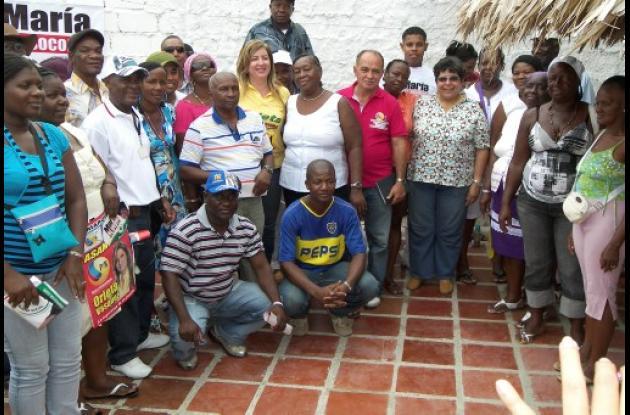 María del Socorro Bustamante se compromete con población afro.
