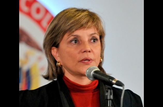 María Fernanda Campo, ministra de Educación de Colombia.