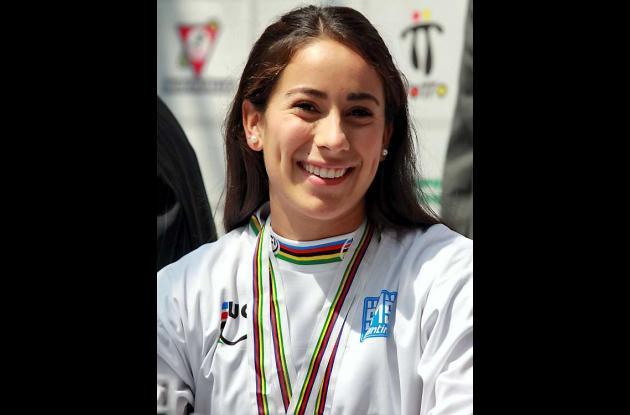 La colombiana Mariana Pajón.