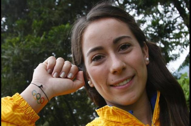 Mariana Pajón, piloto de BMX antioqueña