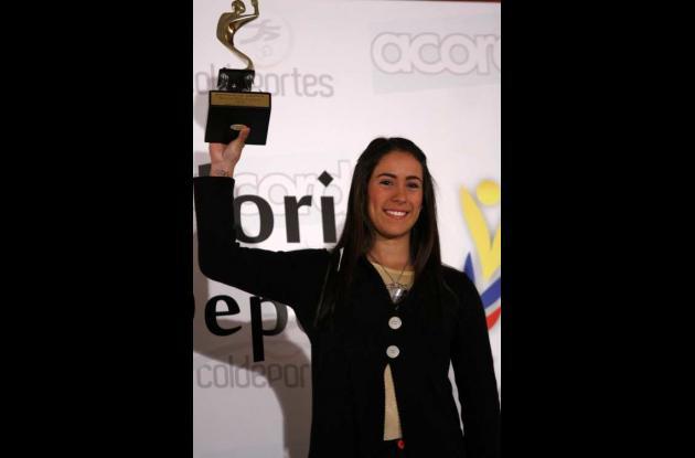Mariana Pajón, deportista del año 2011.