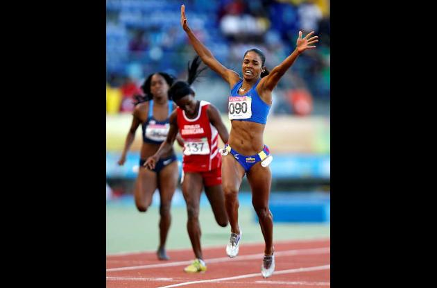 María Princesa Oliveros le dio a Colombia el segundo oro del atletismo