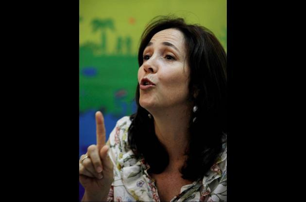 Mariela Castro, hija del presidente Raúl Castro.
