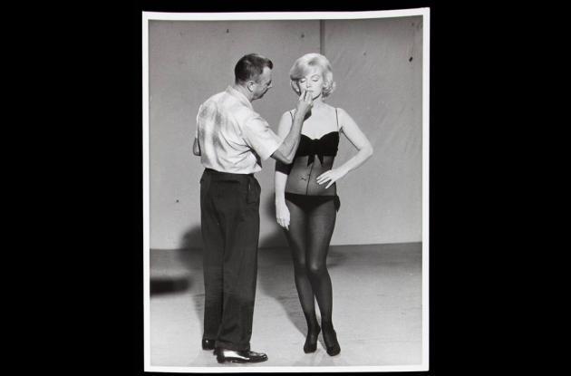 Fotos de Marilyn Monroe que serán subastadas.