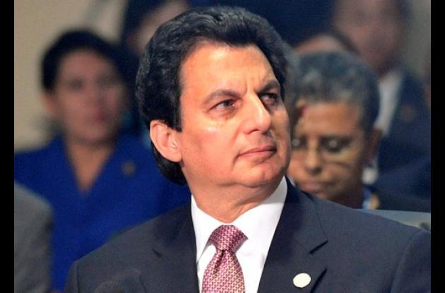 Mario Canahuati, ex canciller de Honduras.