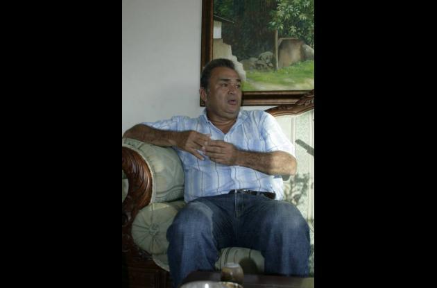Mario Ojeda, padre del joven prodigio.