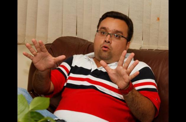 Mario Feliz Monsalve, contralor distrital de Cartagena.