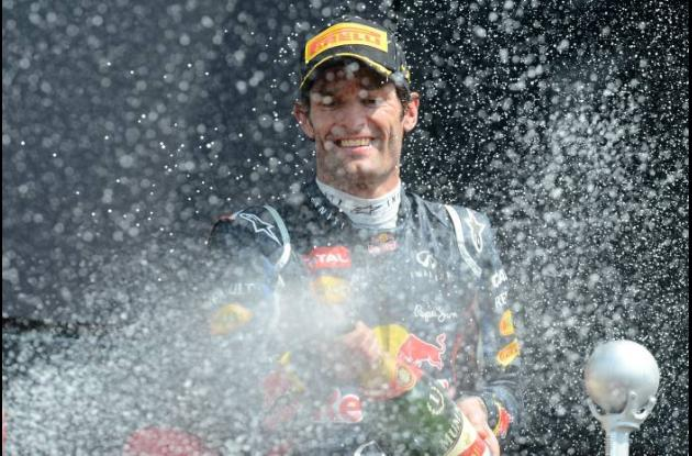 Mark Webber, piloto de fórmula uno.