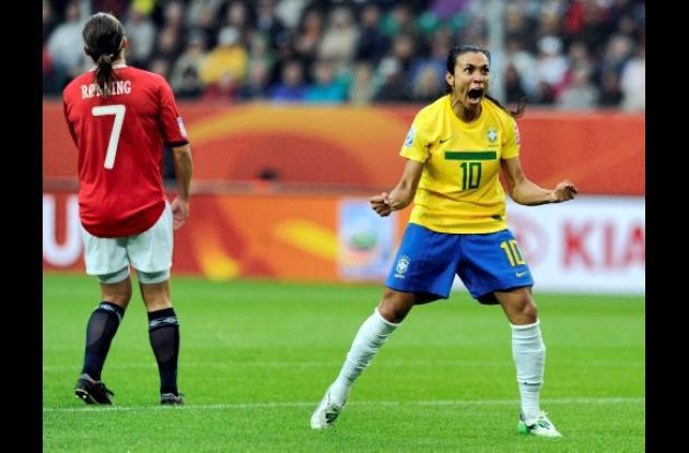 Marta, jugadora de Brasil.