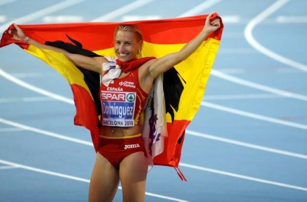 La atleta Marta Domínguez se vio envuelta en un escándalo por dopaje.