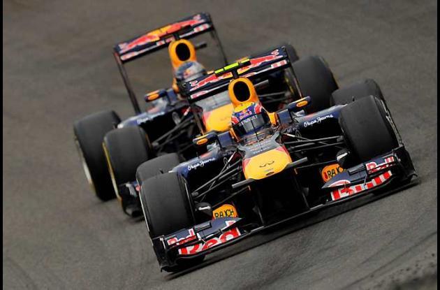 Mark Webber registró este viernes en el mejor tiempo en las primeras prácticas