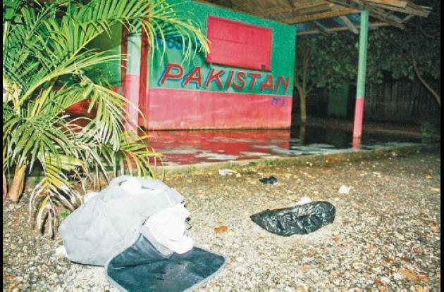 La masacre ocurrió en el establecimiento público 'Pakistán', ubicado en el barri