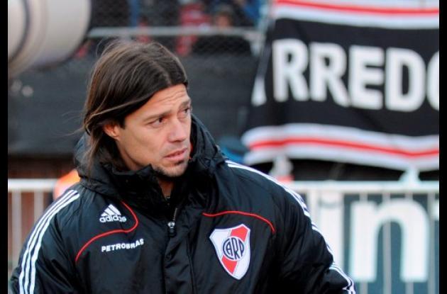 Matías Almeyda, nuevo técnico de River Plate, equipo que descendió a la segunda