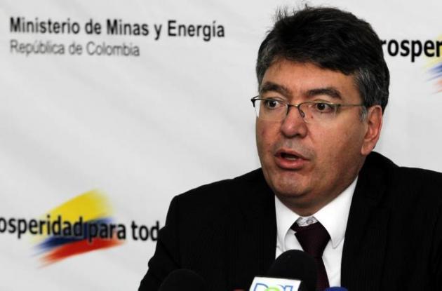 Mauricio Cárdenas, ministro de Minas.