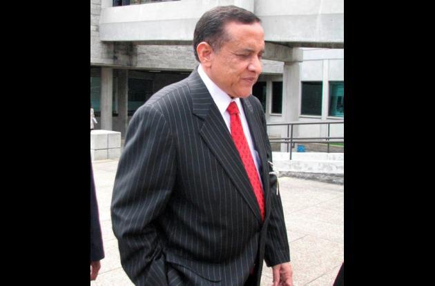El exdirector del DAS, general (r) Miguel Maza Márquez.