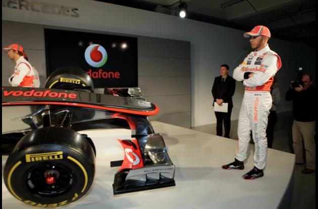 Lewis Hamilton y su McLaren