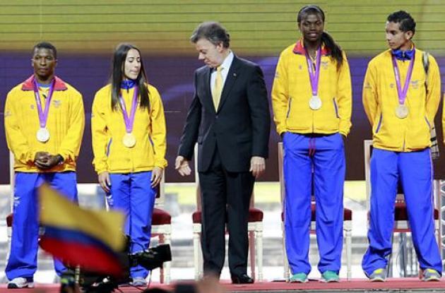 Medallistas olímpicos de Colombia en Londres