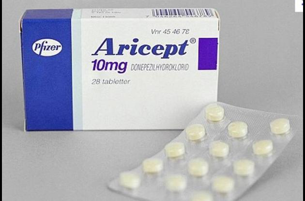 Le hayan beneficios al medicamento Aricept para el Alzheimer.