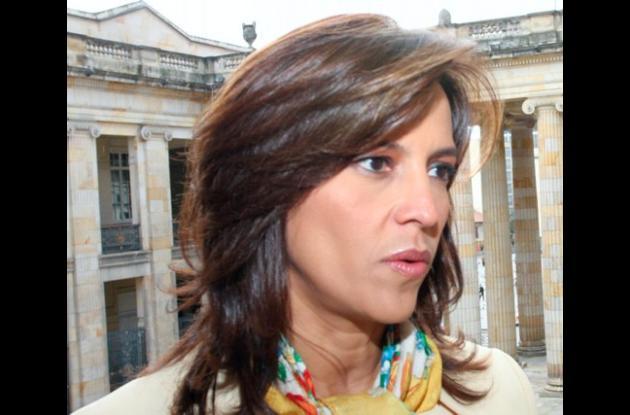 Nancy Patricia Gutiérrez, ex presidenta del Congreso.