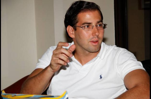 Ménzel Amín Avendaño, representante legal de Autopistas del Sol.
