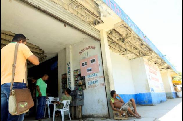 Las condiciones del Mercado de Santa Rita generan preocupación.