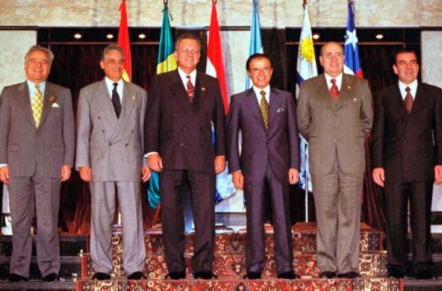 Mercosur nació un 26 de marzo de 1991.
