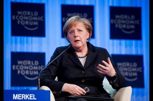 Angela Merkel, jefa del gobierno alemán.
