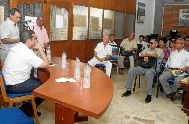 Mesa de trabajo Servicios Públicos Domiciliarios.
