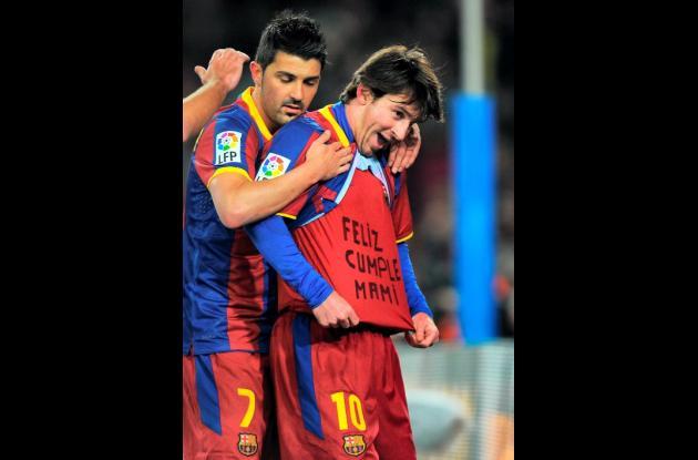 Lionel Messi, otra vez fue figura con el Barcelona.