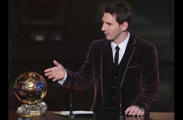 Lionel Messi, Balón de Oro de la FIFA 2011.