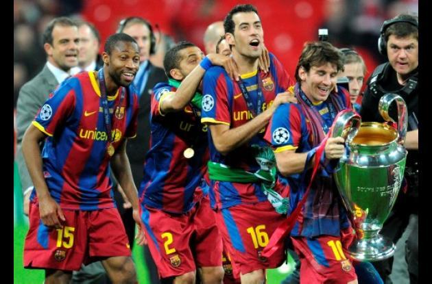El Barcelona derrotó 3-1 al Manchester United en la final de la Liga de Campeone