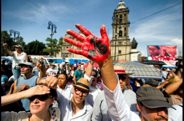 México se puso en pie contra la violencia.