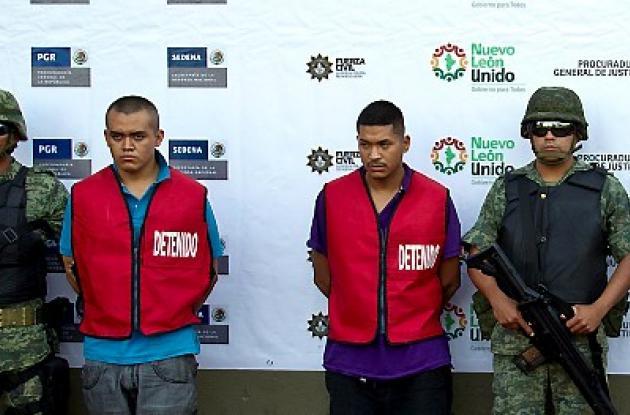"""Jonathan Estrada Pérez, alias """"Tita"""", y Tomás Barbosa Sánchez, alias """"Tomy"""""""