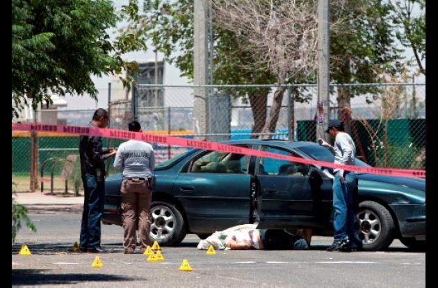 Algunas regiones de México son víctimas de la violencia .