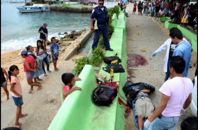 La violencia en Acapulco se ha recrudecido en los últimos días.