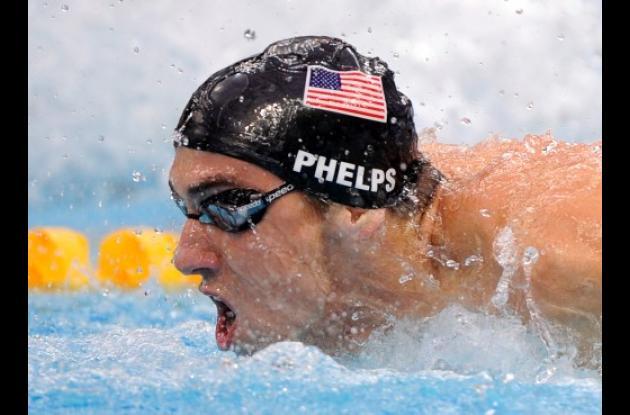 Michael Phelps, nadador campeón olímpico