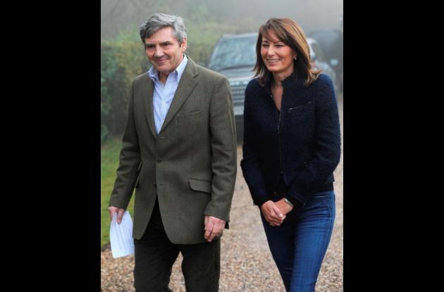Michael y Carole, los padres de Kate Middleton.