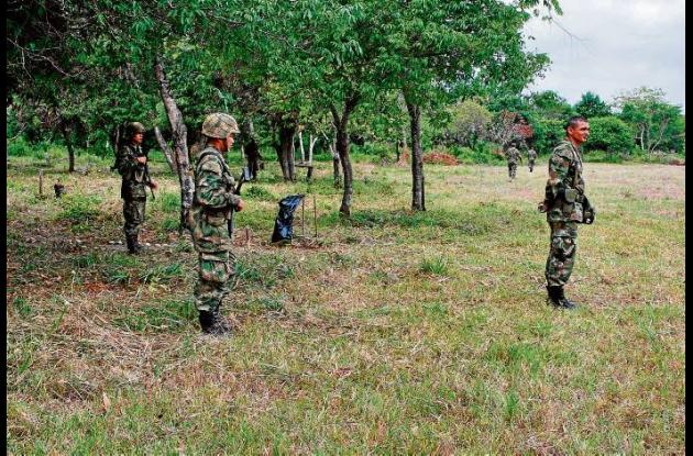 Córdoba es uno de los departamentos con más accidentes por minas antipersonales.