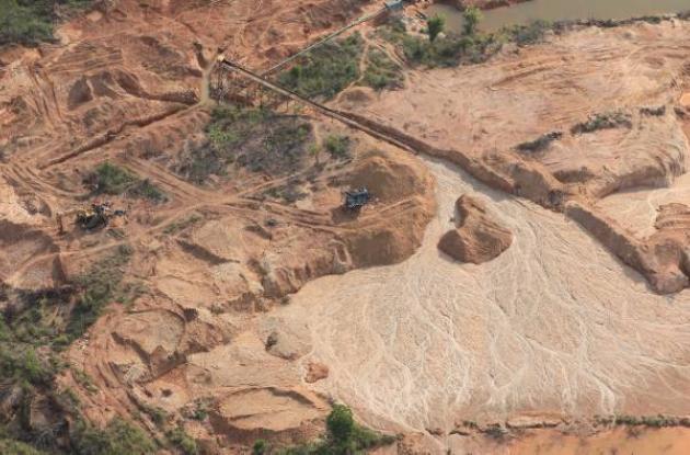 Aumenta minería ilegal en el sur de Bolívar.