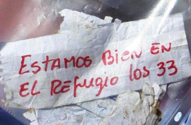El mensaje fue dado a conocer al mundo por el presidente Sebastián Piñera.