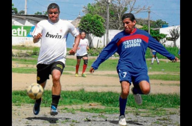 Torneo de minifútbol en Cereté